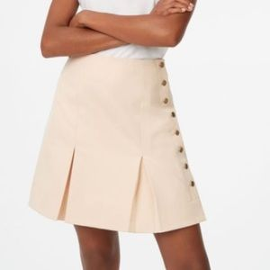 Club Monaco Camel Teeneelie Skirt